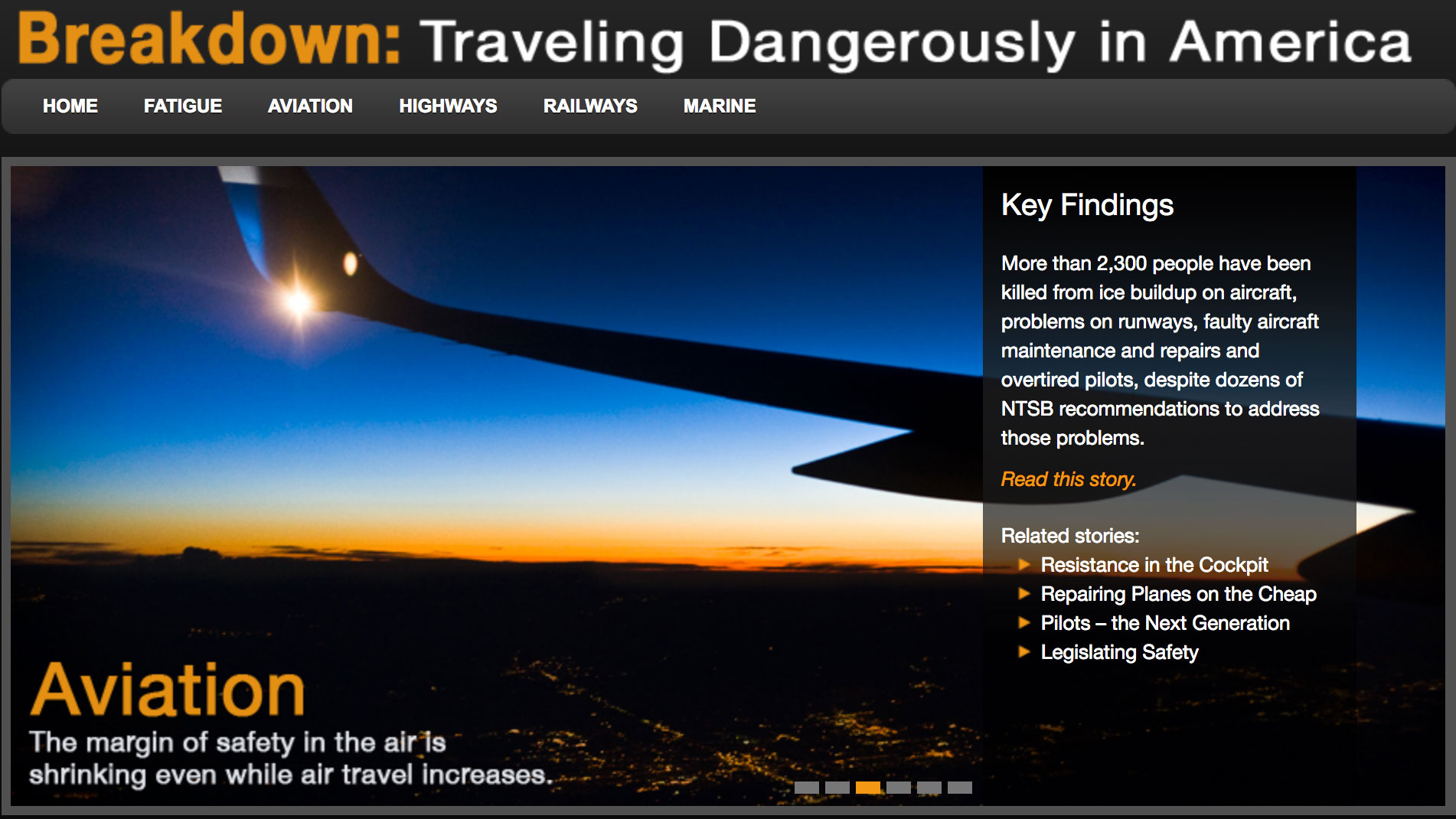 Breakdown: Traveling Dangerously in America